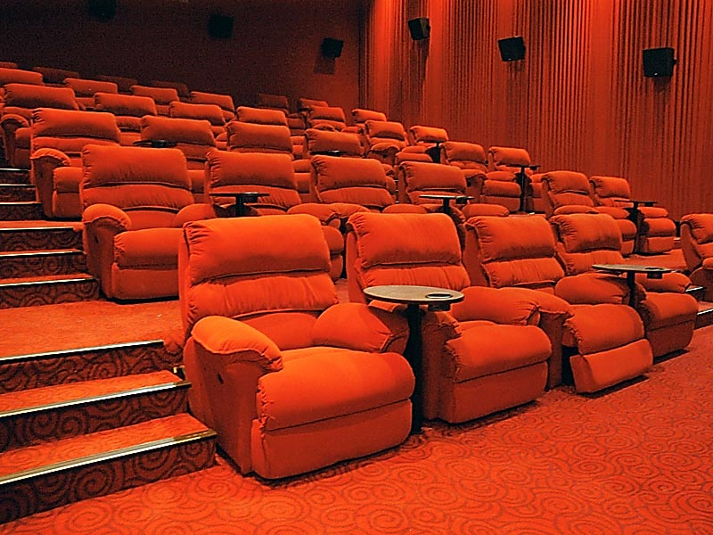 I think this is how a gold class theater would look like.